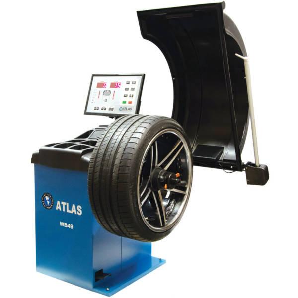 Atlas WB49 Equilibreuse de roue automatique 32''