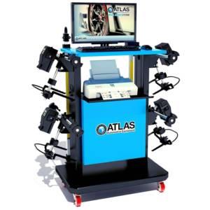 Système d'alignement de roue entièrement informatisé Atlas WA40 CCD